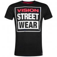 Vision Street Wear Herren Crew T-Shirt CM0245 schwarz
