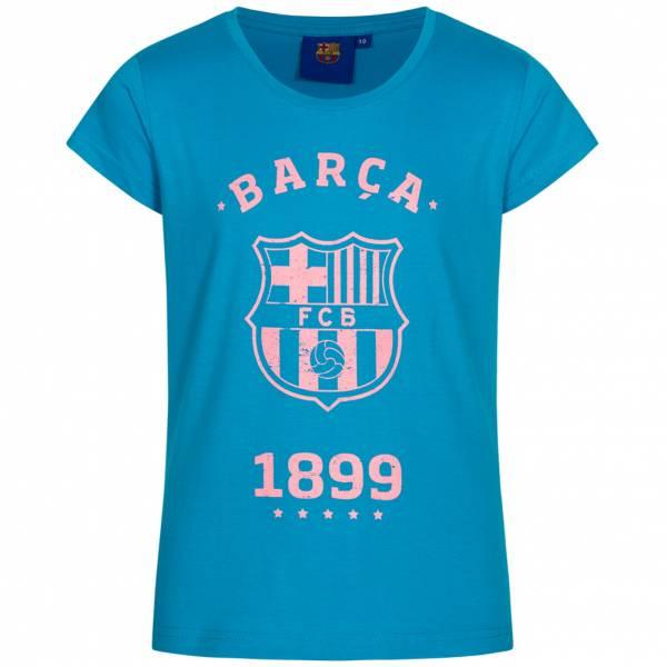 FC Barcelona Barca 1899 Mädchen T-Shirt FCB-3-003