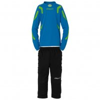 Uhlsport TorwartTECH Kinder Torwart Set blau