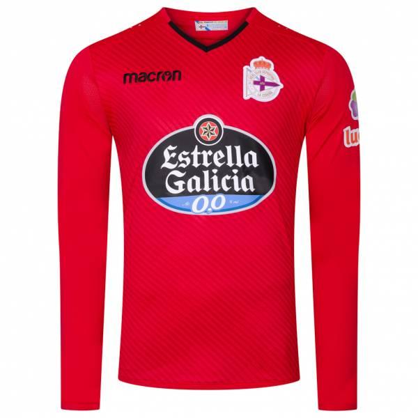 Deportivo La Coruna macron Herren Heim Torwarttrikot 58020012