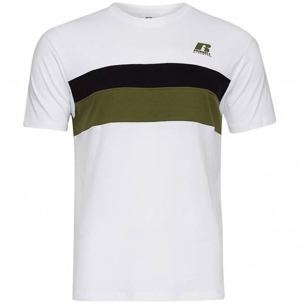 RUSSELL Stripe Panel Herren T-Shirt A0-084-1-001