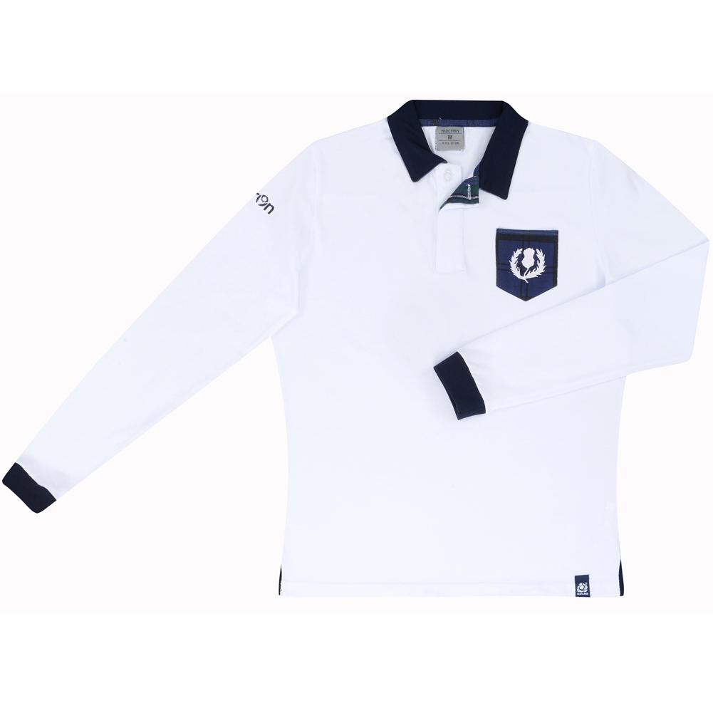 Schottland SRU macron Rugby Herren Shirt 58030370