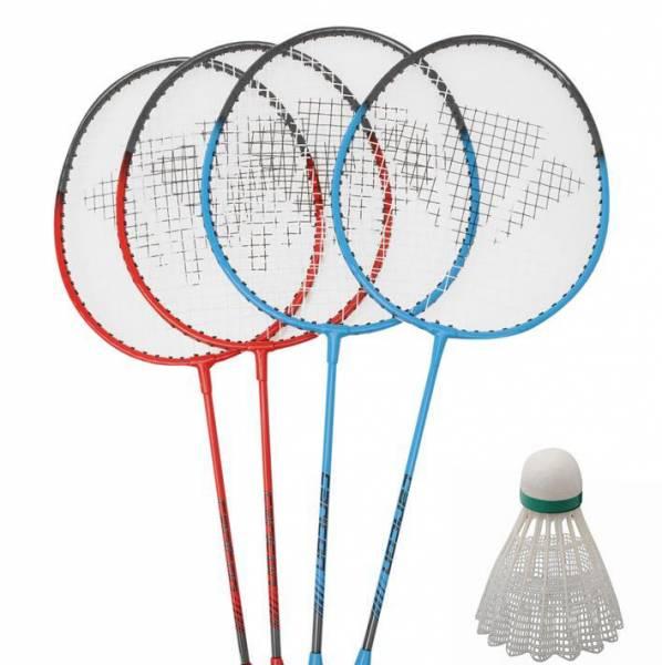 Carlton 4er Badminton Set mit Netz