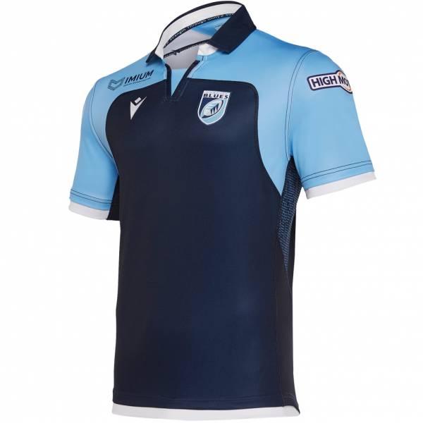 Cardiff Blues macron Authentic Herren Heim Trikot 58018949