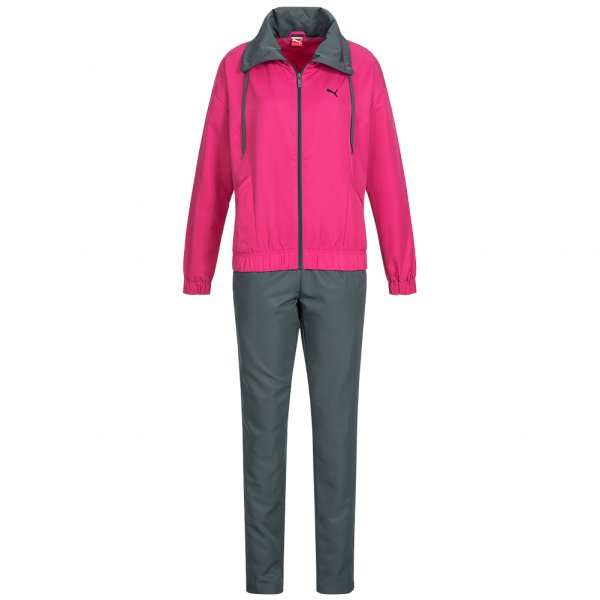 PUMA Damen Trainingsanzug Woven Suit Open Bottom 827910-05
