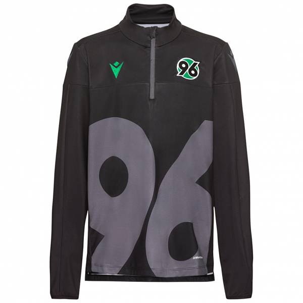 Hannover 96 macron 1/4-Zip Kinder Trainings Sweatshirt 58014408