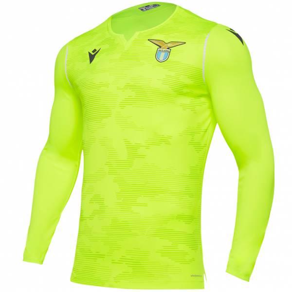 Lazio Rzym macron Mężczyźni Bramkarska koszulka wyjazdowa 58014157