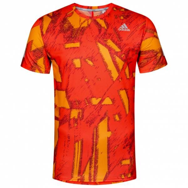 adidas Response Q1 Graphic Tee Herren Running Shirt B47704