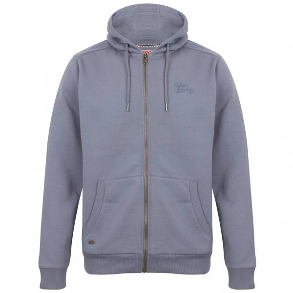 Bluza z kapturem Tokyo Laundry Lollard Full Zip Hooded 1E10461 Dusty Blue