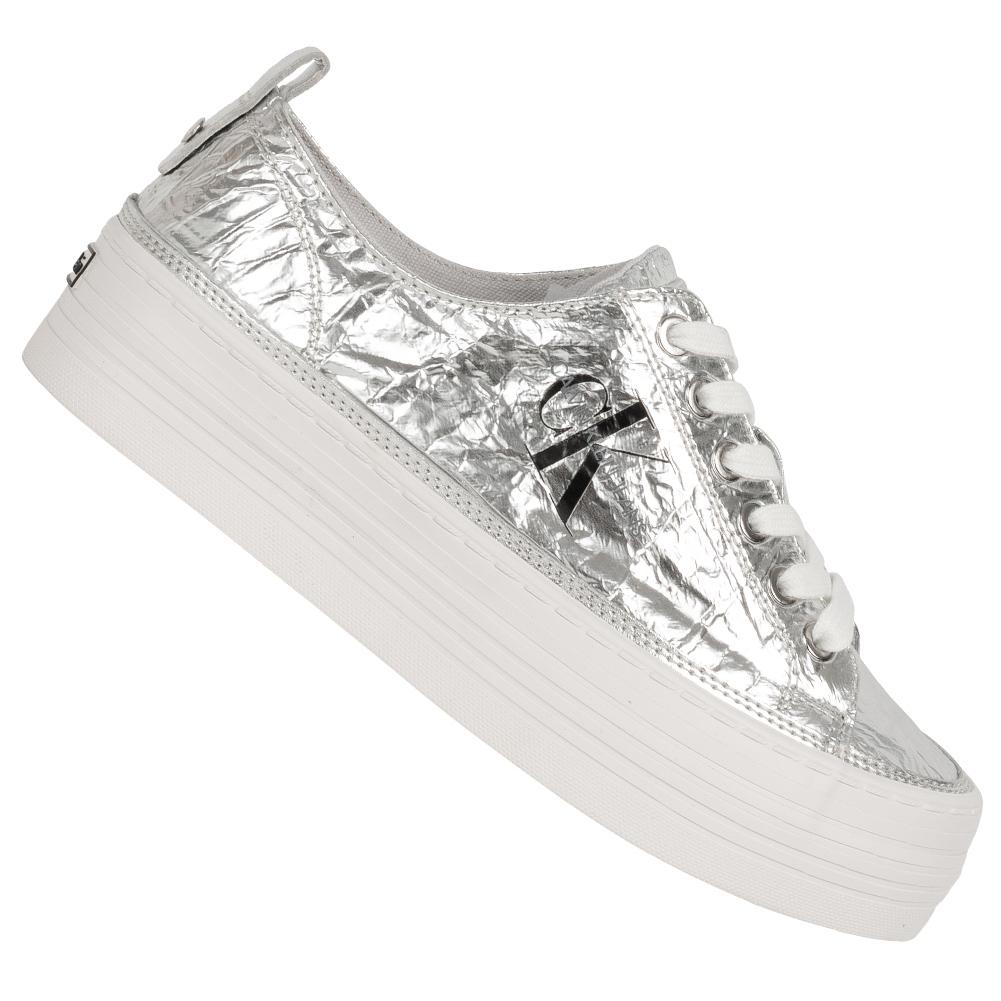 Calvin Klein Jeans Zolah Damen Plateau Sneaker RE9848SLV