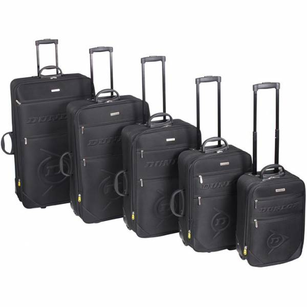 Dunlop Koffer schwarz