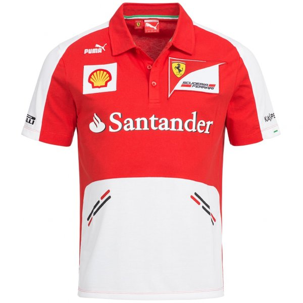 PUMA Scuderia Ferrari Herren Fan Team Polo-Shirt 761245-01