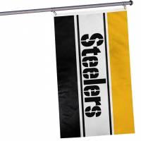 Steelers de Pittsburgh NFL Drapeau horizontal pour supporters 1,52 mx 0,92 m FLGNFHRZTLPS