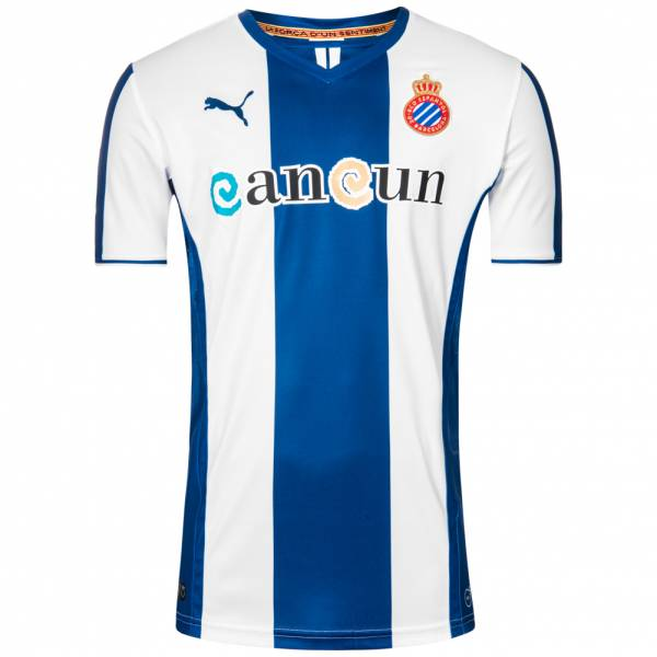 RCD Espanyol Barcelona Puma Heim Trikot mit Sponsor 743865-01