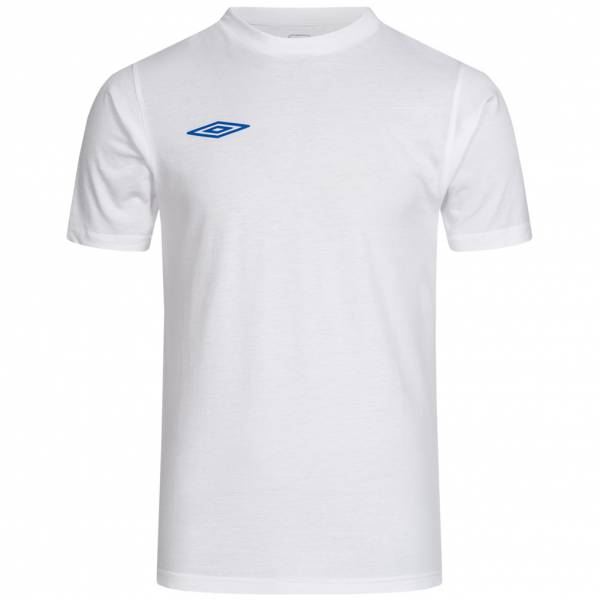 Umbro Herren Saints Jersey Trainings Crew Neck T-Shirt UMB0261-WHITE