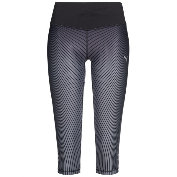 PUMA Graphic Damen 3/4 Running Tights Leggings 514333-01