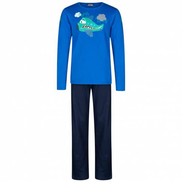 Kappa Schnuck Kinder Pyjama Set Schlafanzug 704075J-892