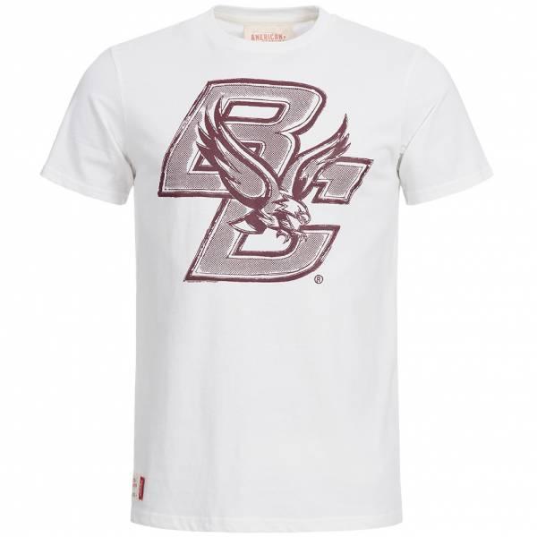 Boston College Eagles Football T-Shirt American Freshman weiß