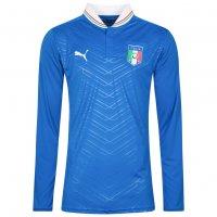 Italien PUMA Herren Langarm Heim Trikot 740300-01