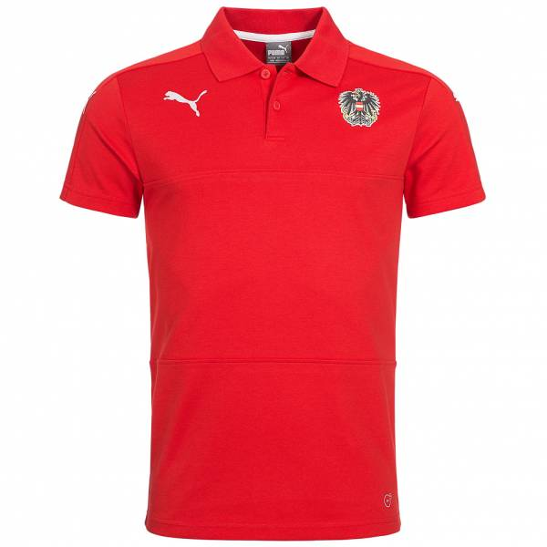 Österreich PUMA Herren Fan Polo-Shirt 748696-11