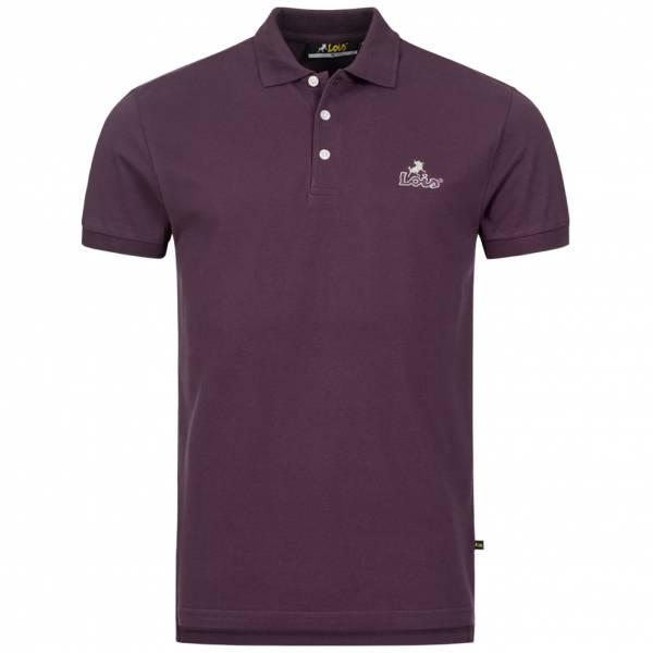 Lois Jeans Herren Polo-Shirt 4E-LPSM-Purple