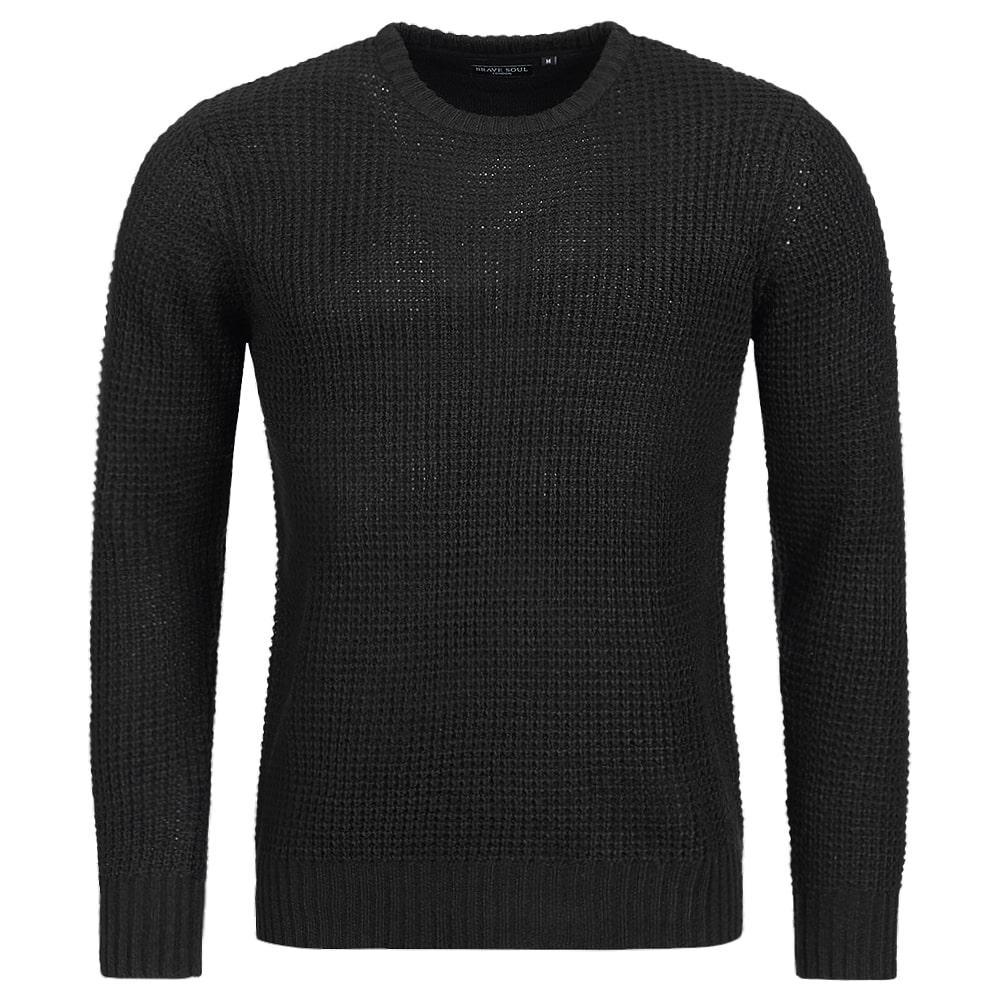 BRAVE SOUL Slovak Herren Sweatshirt MK 162SLOVAKX Black