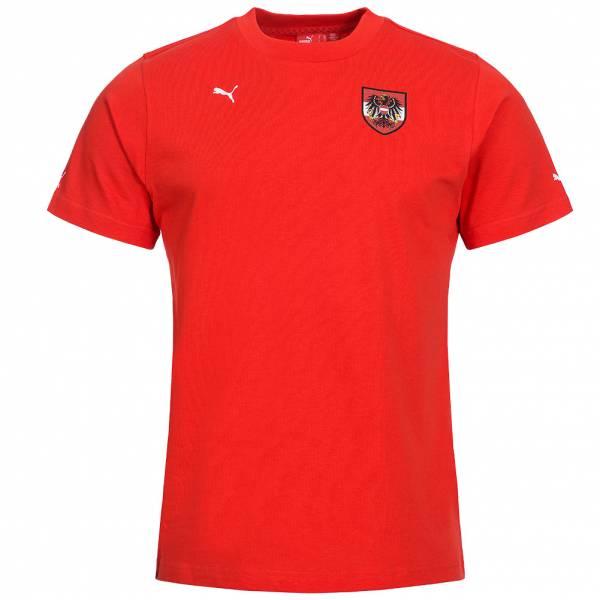 Österreich PUMA Kinder Fußball T-Shirt 735340-01
