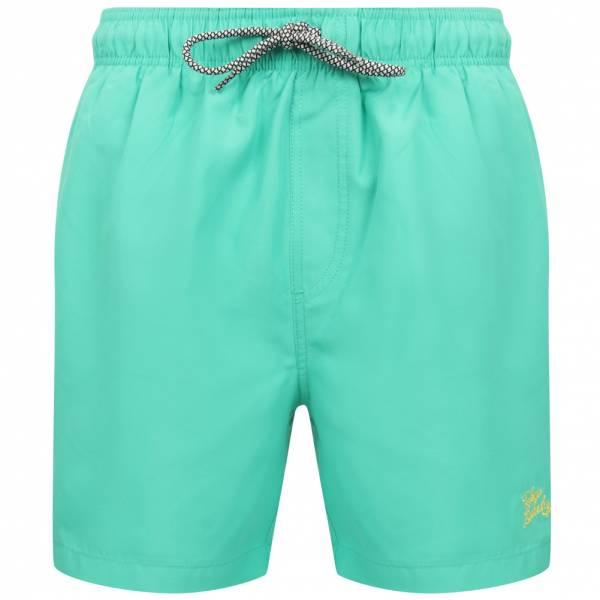 Tokyo Laundry Algol Hommes Short de bain 1S12661 Marine Vert