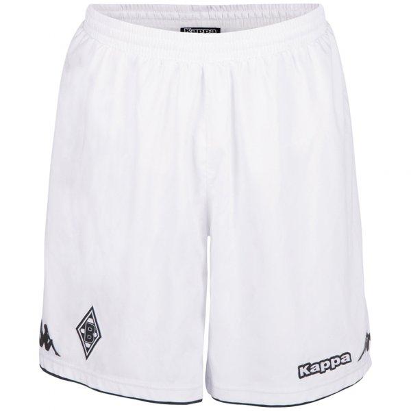 Borussia Mönchengladbach Kappa Heim Shorts 402408 weiß