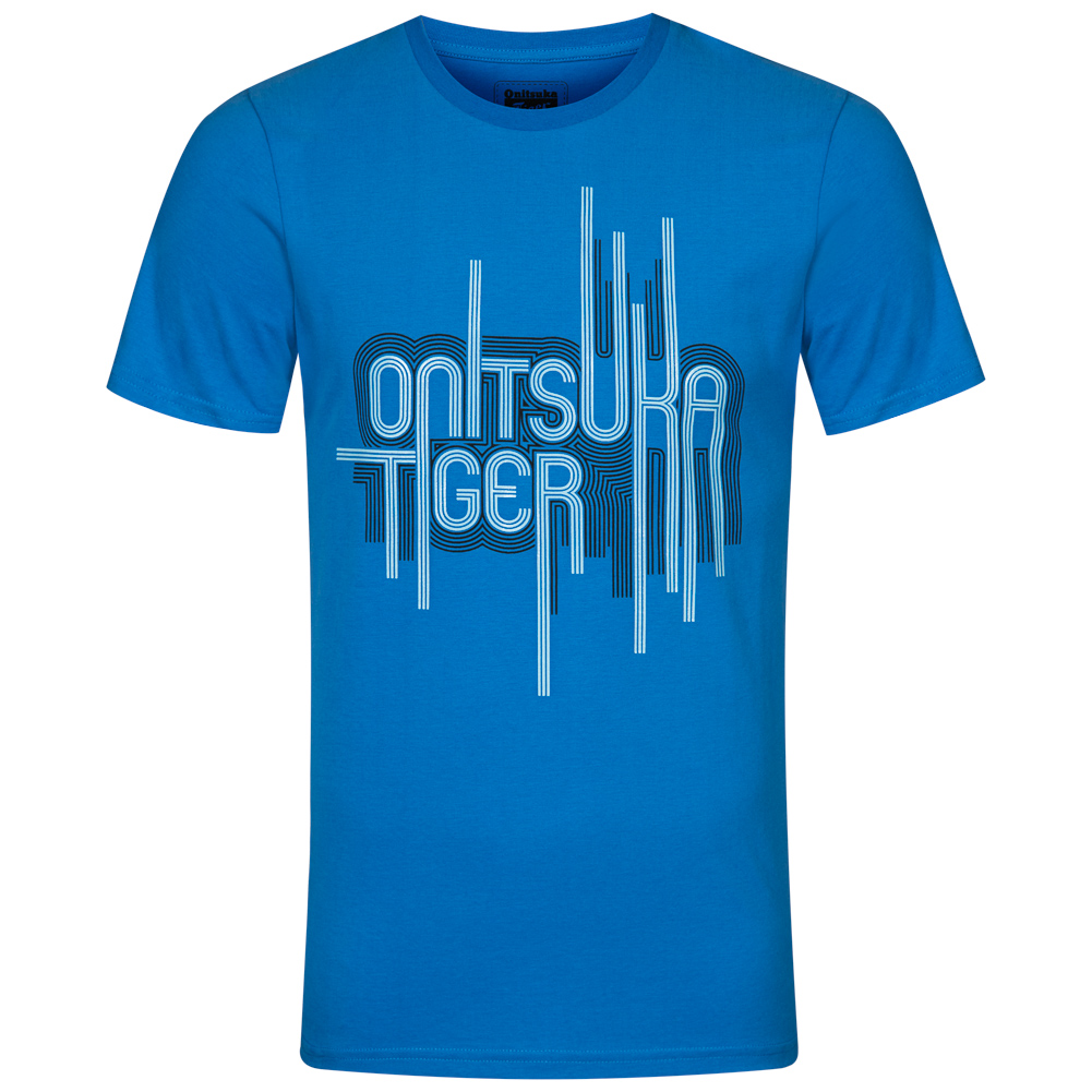 various styles shop for latest selection ASICS Onitsuka Tiger Modern Script Tee Men's T-Shirt 122723-0818