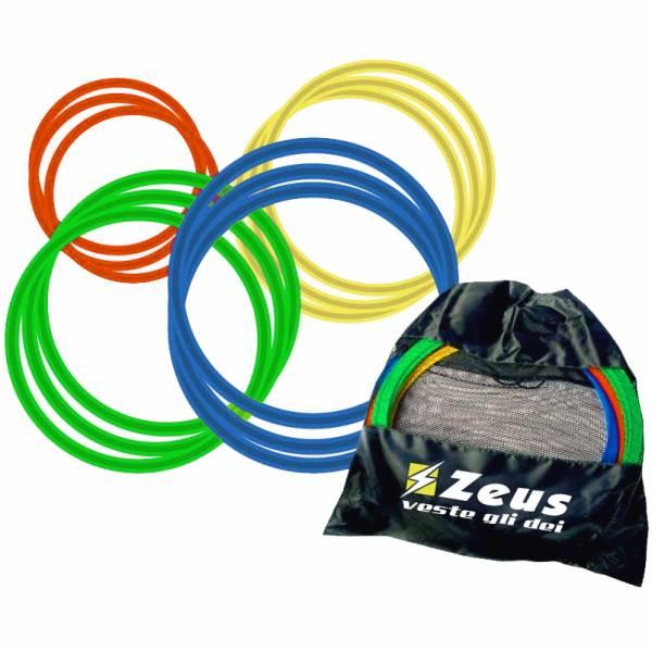 Zeus 12er-Pack Koordinationsringe Set 60cm mit Tasche