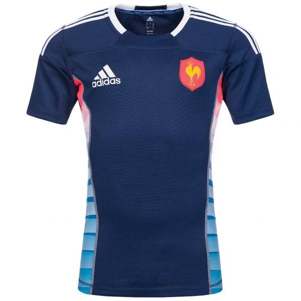 Frankreich adidas Rugby Trikot FFR Spielertrikot Z38842