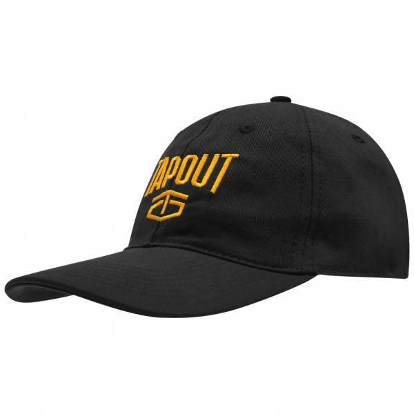 Tapout MMA Logo Baseball Kappe 399142 Black