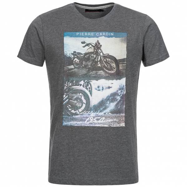 pretty nice 31ed2 5ea9f Pierre Cardin Herren Established 1950 T-Shirt dunkelgrau