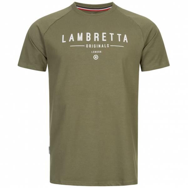 Lambretta Originals Raglan Herren T-Shirt SS5262-KHAKI