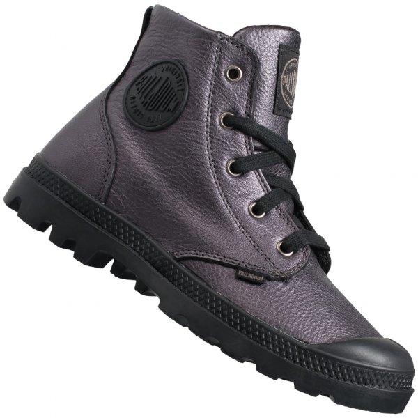 Palladium Pampa Hi Metallic Graphit Damen Boots 93480-063