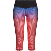 PUMA Graphic Damen 3/4 Running Tights Leggings 514333-03