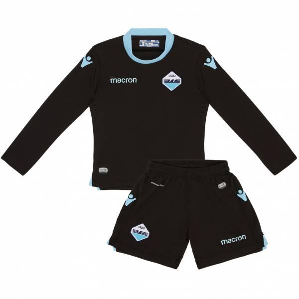 Lazio Rom macron Heim Kinder Torwart Trikot Set 58086236
