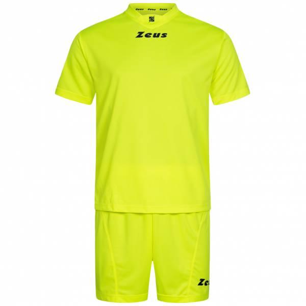Zeus Kit Promo Conjunto de fútbol 2 piezas amarillo neón