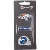 Denver Broncos NFL Metall Pin Anstecker 3er-Set BDNFL3PKDB