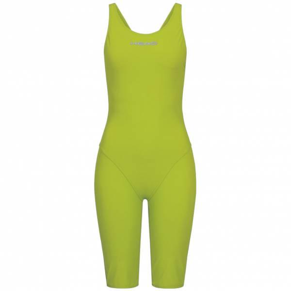 HEAD Liquidfire Power Open Back Knee Suit Damen Badeanzug 452102-LMLM