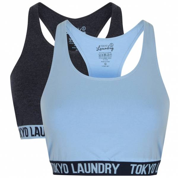 Tokyo Laundry Ada Racer Back Damen Sports Bra 2er Pack Set 3P9891