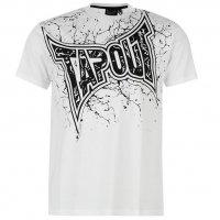 Tapout MMA Herren Logo Shirt weiß