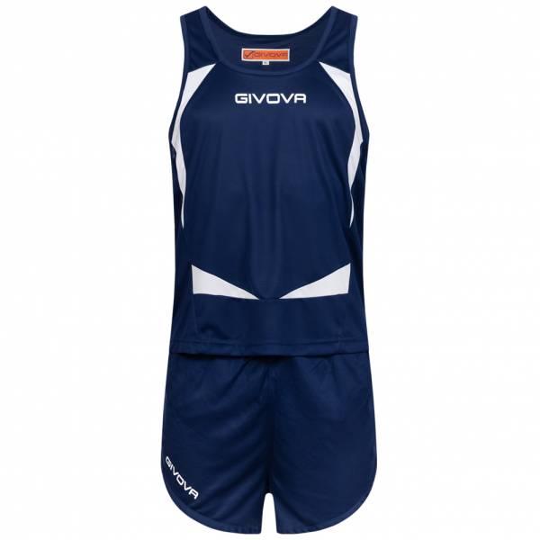 Givova Kit Sparta Leichtathletik Set Singlet + Short KITA05-0203