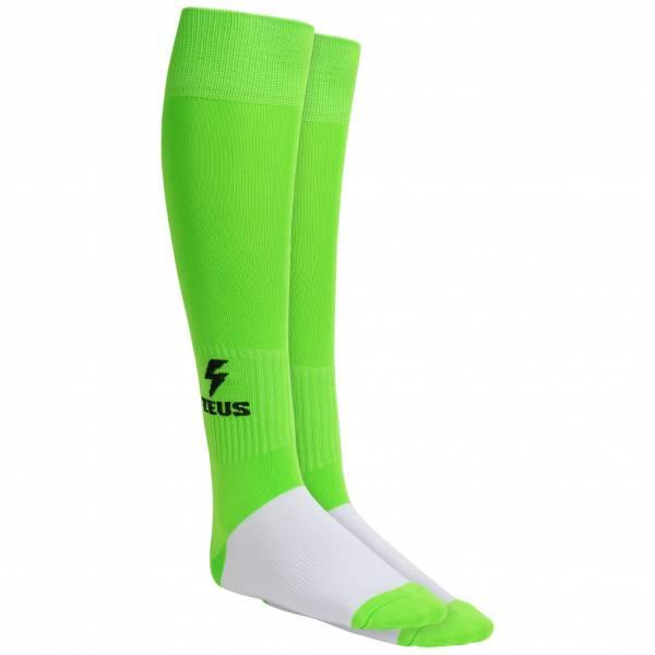 Zeus Calza Energy Calzettoni da calcio verde neon