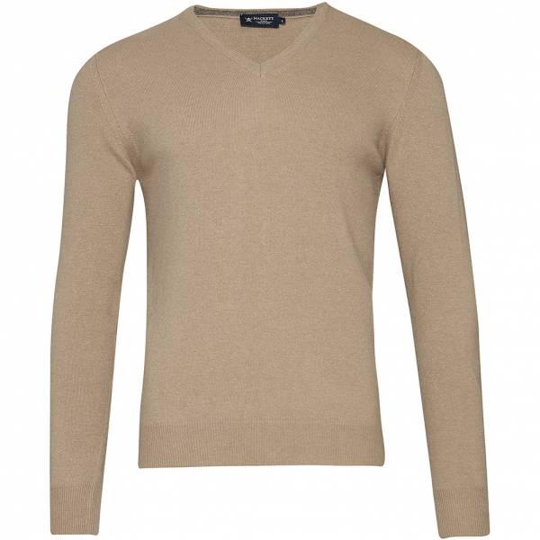Hackett London V-Neck Herren Merinowolle Sweatshirt HM702347-8KJ
