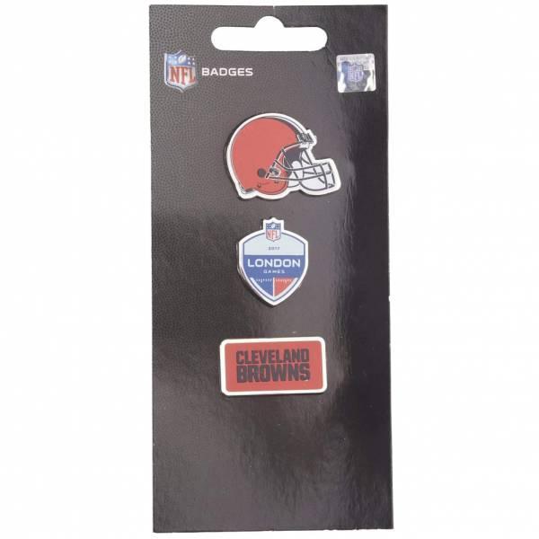 Cleveland Browns NFL Metall Pin Anstecker 3er-Set BDNF3HELCL