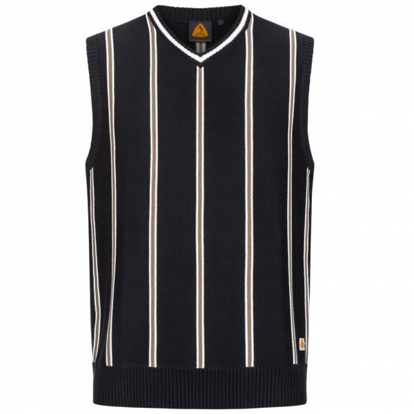Boris Becker Knitted Retro Herren Pullunder 245614-schwarz