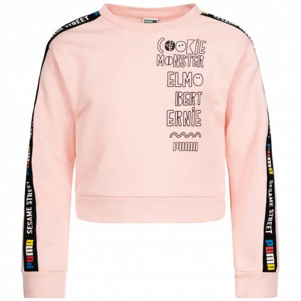 PUMA Sesame Street Girl Crop Sweatshirt 843759-83