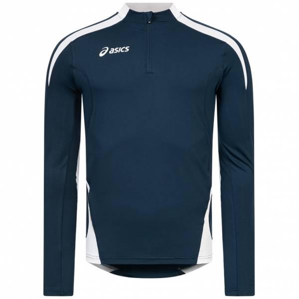 ASICS Crew Sweat Ben 1/4-Zip Herren Lauf Sweatshirt T233Z6-5001